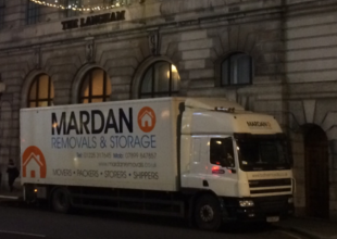 Our Mardan Removals and Storage Lorry