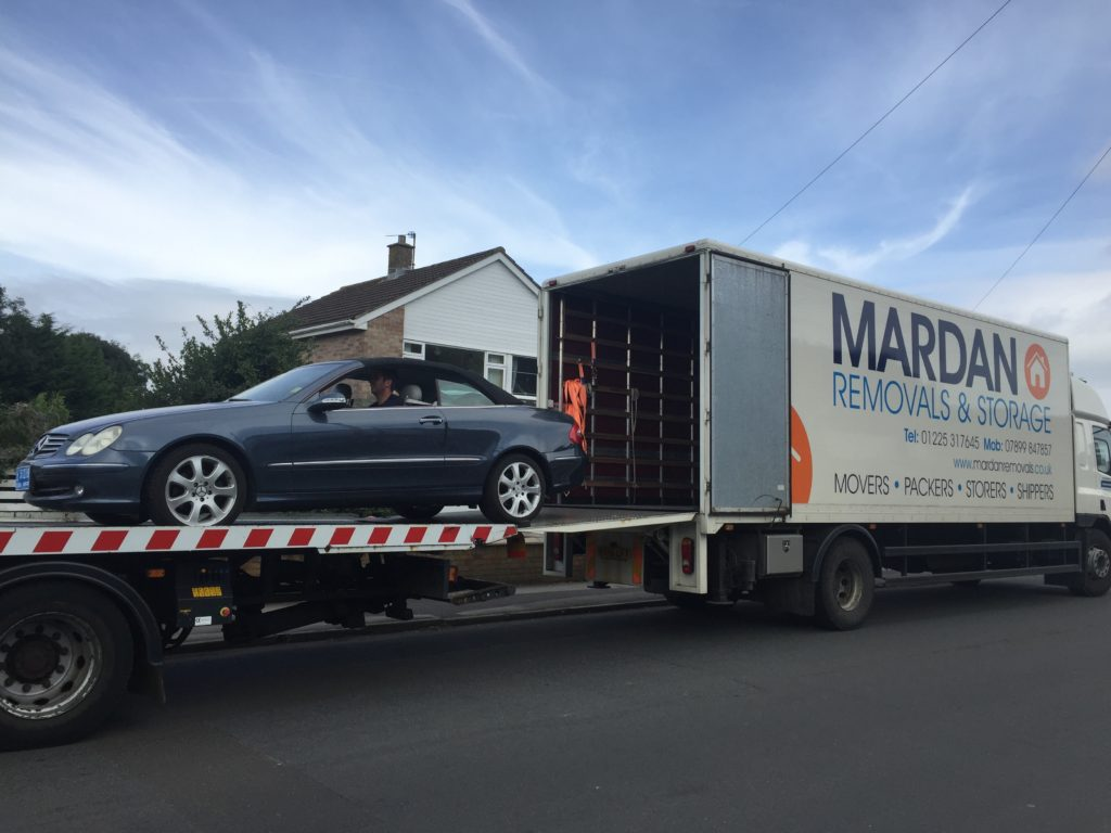 Bath to Dubai car removal