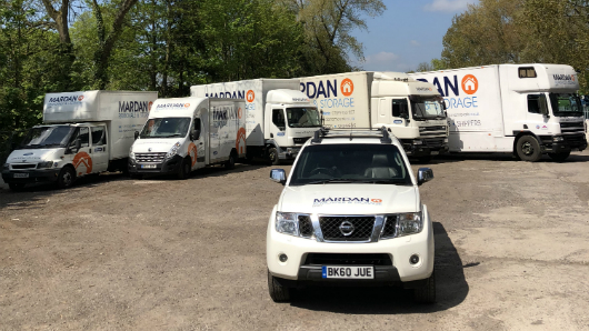 Mardan removals vans and lorries for hire