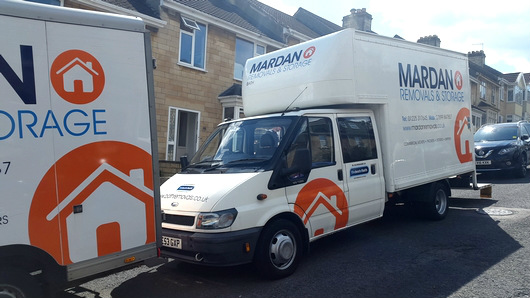 Bath Removals vans