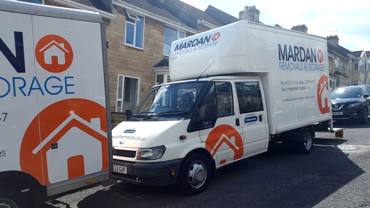 removal vans in Bath