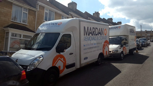 Two removal lorries for hire in Bath