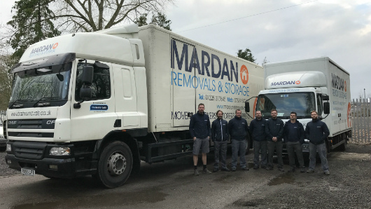 Bath removals Mardans team, Mardans Removals & Storage lorry