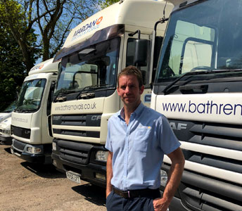 Removals vehicles in Bath