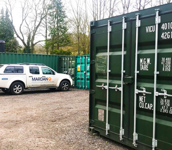 Storage units for hire in Bath